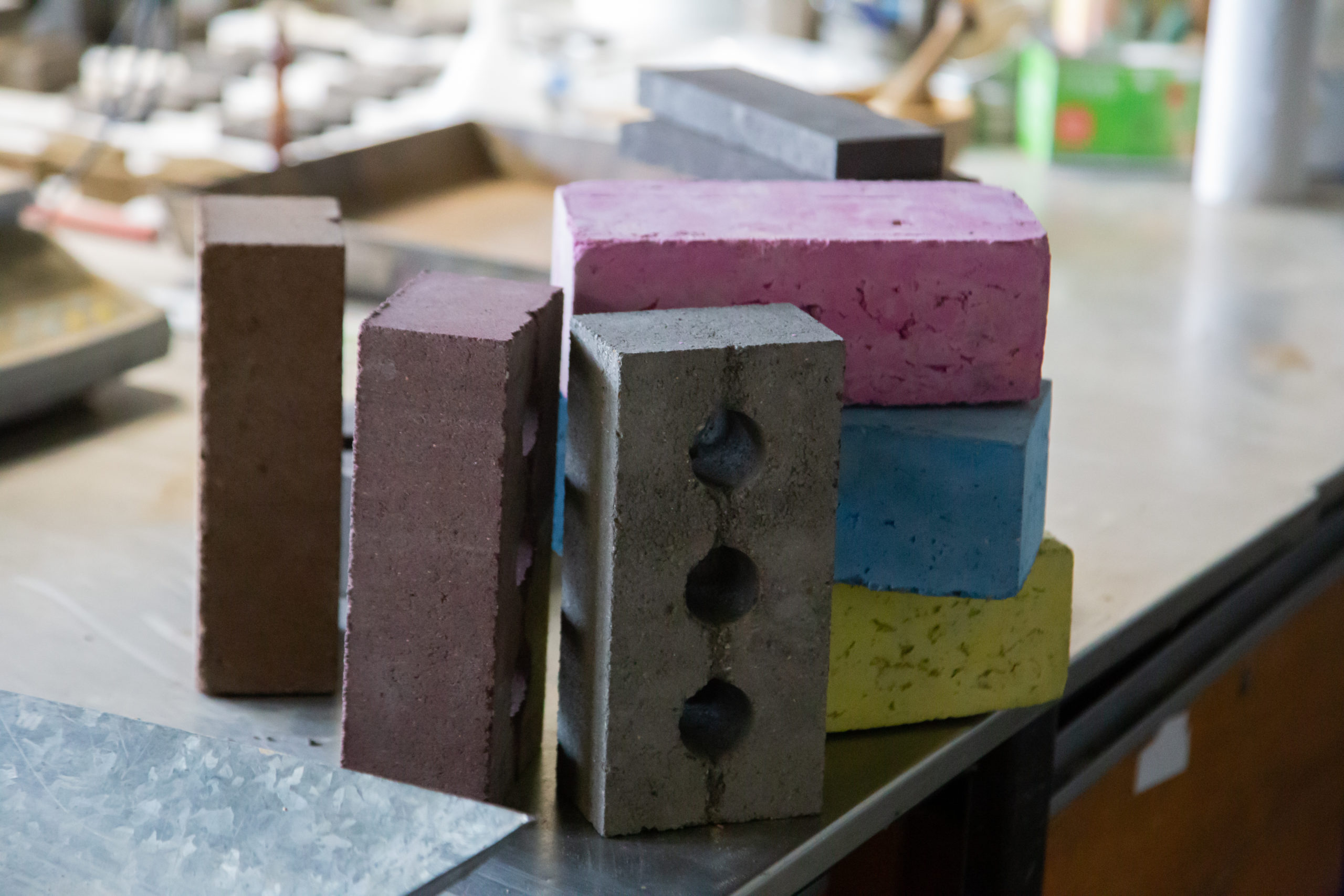 Scottish startup Kenoteq K-Briq more sustainable building brick made of 90% construction waste